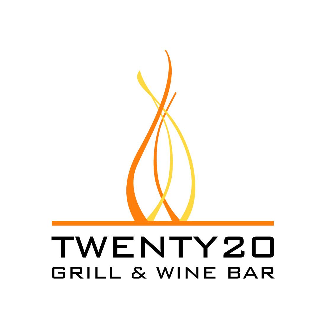 Twenty 20 Grill Logo Design