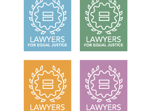 Lawyers for Equal Justice Logo Design