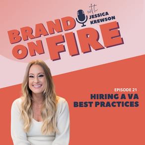 Episode 21: Hiring a VA Best Practices