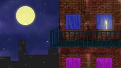 EXT. Balcony - Night