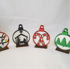 Christmas table ornaments