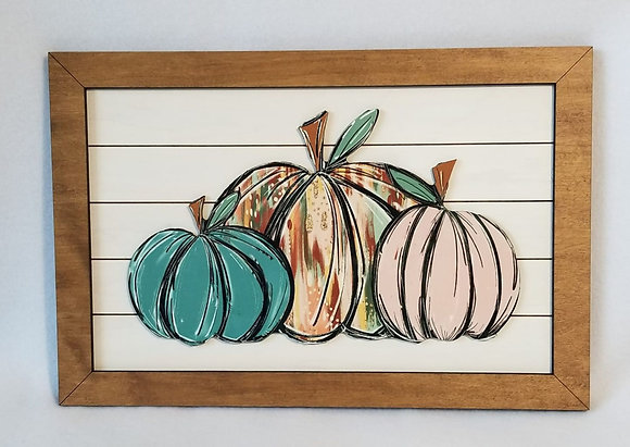 Simply Pumpkin Wall Decor