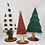 Thumbnail: 3 wooden Christmas trees