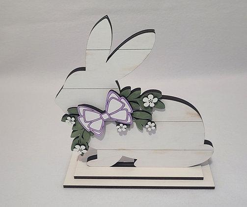 Easter Bunny wood decor