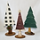Thumbnail: 3 wooden Christmas trees