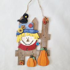 Scarecrow fall home decor
