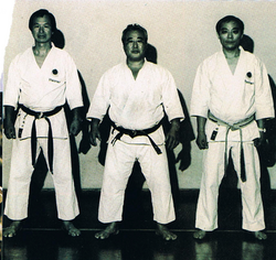 Sensei Enoeda, Kase et Miyazaki