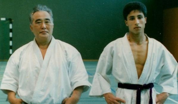 Sensei Kase 9°Dan et Sensei Mansour