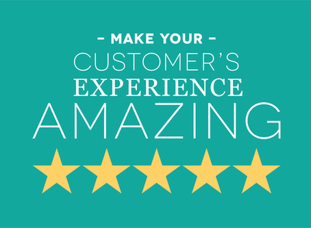 Make your customer's experience an amazing one