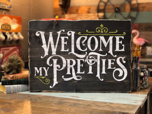 #926 Welcome Pretties Home