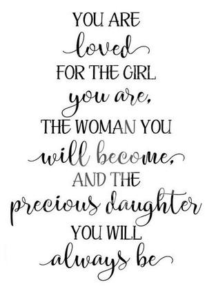 #1308 Girl Woman Daughter