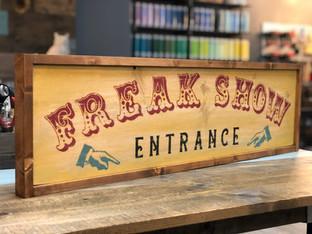 #921 Freak Show Framed.JPG