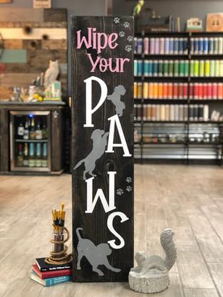 #1816 Wipe Paws Dog 12x48.JPG