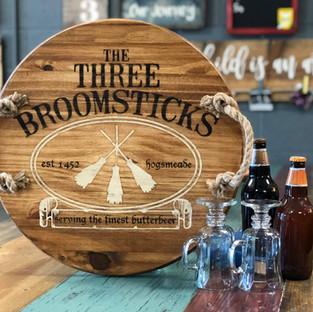 3 Brooms Tray