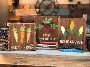 #713 Garden Produce Trio