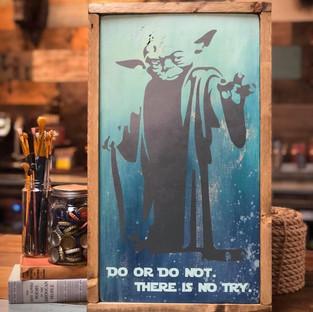 Do Or Do Not Framed