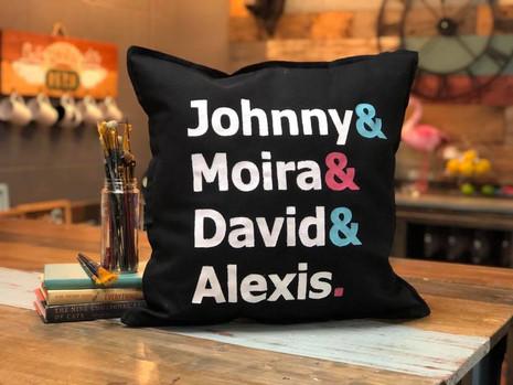 SC Names Pillow
