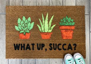 What Up Succa Doormat