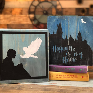 HP Sitting With Owl/ Hogwarts Is My Home