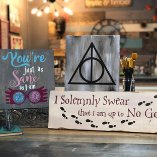 Just As Sane/ Deathly Hallows/Solemly Swear