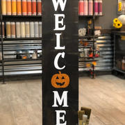 #906 Welcome Pumpkin Porch 12x48.JPG