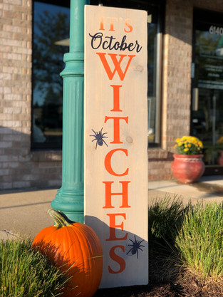 #908 Its October Witches Porch 12x48.JPE