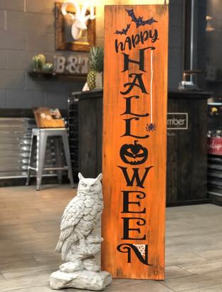 #900 Happy Halloween Bats Porch 12x48.JP