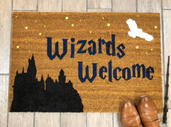 Wizards Welcome Doormat