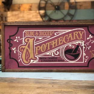 Magical Apothecary Framed