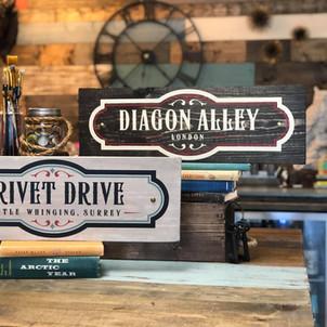 Diagon Alley/ Privet Dr