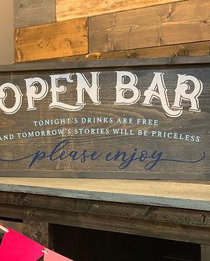 #100 Open Bar Framed 13x32.JPEG