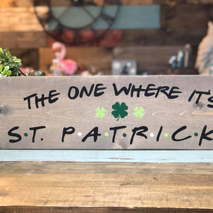 The One Where It's St. Pats