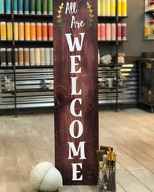 #705 All Are Welcome Porch 12x48.JPG