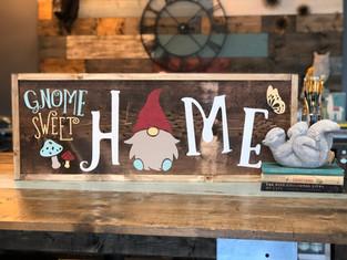 #1004 Gnome Sweet Home Framed.JPG