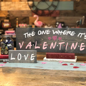 The One Where It's Valentines