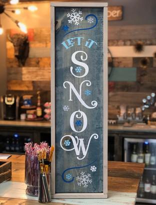 #2276 Let It Snow Framed 12x36.JPEG