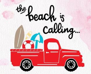 #402 Beach is Calling