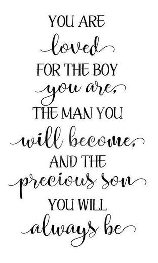 #1309 Boy Man Son