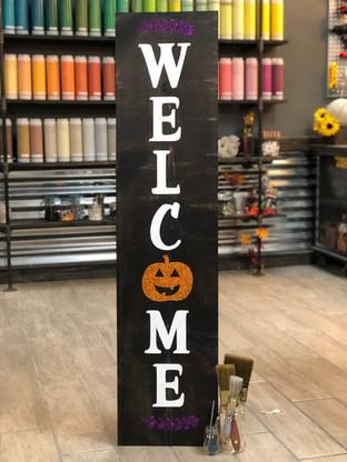 #906 Welcome Pumpkin Porch 12x48.JPG