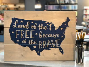#879 Land Of The Free Map 18x24.JPG