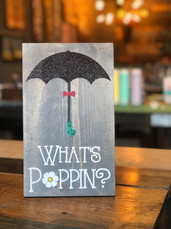 What's Poppin Umbrella
