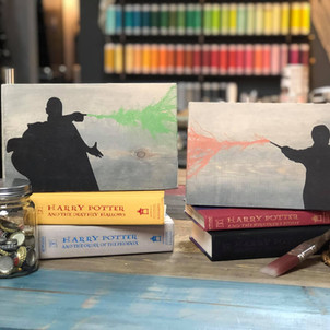 Harry Wand Battle / Vold Wand Battle