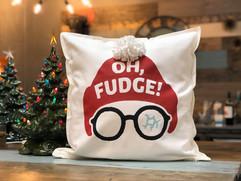 Oh Fudge Pillow