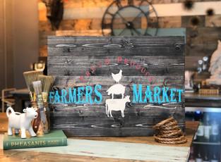 #708 Farmers Market Animals