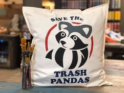 Trash Panda Pillow