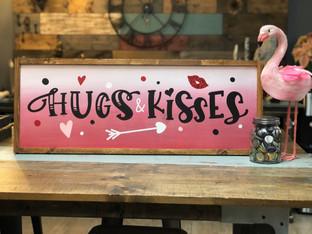 #804 Hugs & Kisses Framed.JPG