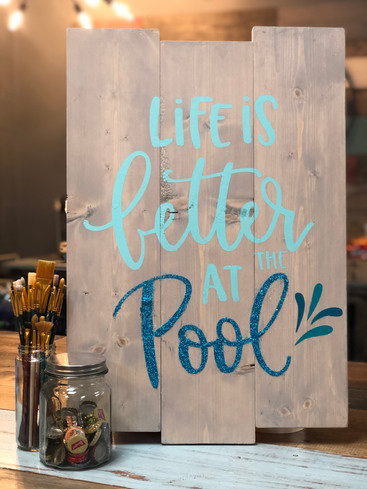 #405 Life Is Better Pool