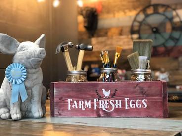 #705 Farm Eggs Box