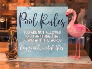 #407 Pool Rules