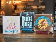 Small World, Haunted Mansion, Splash Mountain